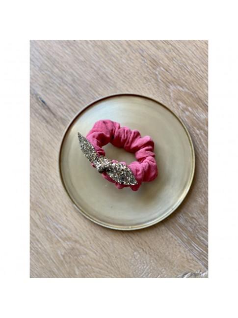 CHOUCHOU Rose Paillettes